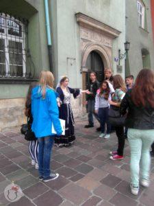 gra miejska dla dzieci - lekcja tańca